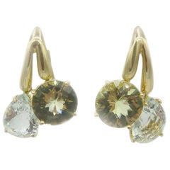 Roberto Coin 18 Karat Yellow Gold Dangle Earrings