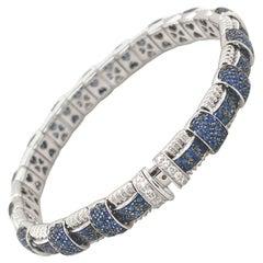 Roberto Coin Appasionata Sapphire and Diamond Bracelet