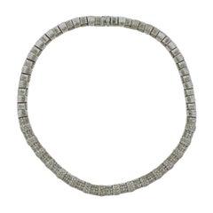 Roberto Coin Appassionata 7.36 Carat Diamond 18 Karat Gold Necklace