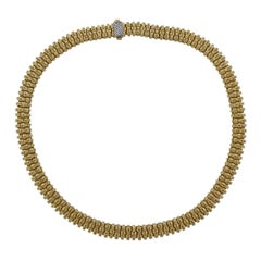 Roberto Coin Appassionata Diamond Gold Necklace