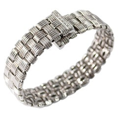 Roberto Coin Appassionata Three-Row Bracelet with Diamonds