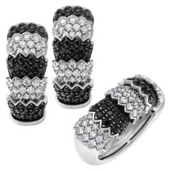 """Roberto Coin """"Cobra"""" Earrings and Ring Set"""
