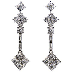 Roberto Coin Diamond Dangle Earrings