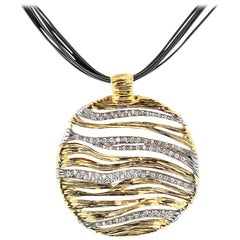 Roberto Coin Elefantino Diamond Gold Pendant Necklace