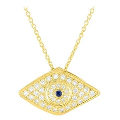 Roberto Coin Evil Eye Necklace 000701AYCHXS