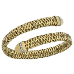 Roberto Coin Flexible Primavera Snake Cuff