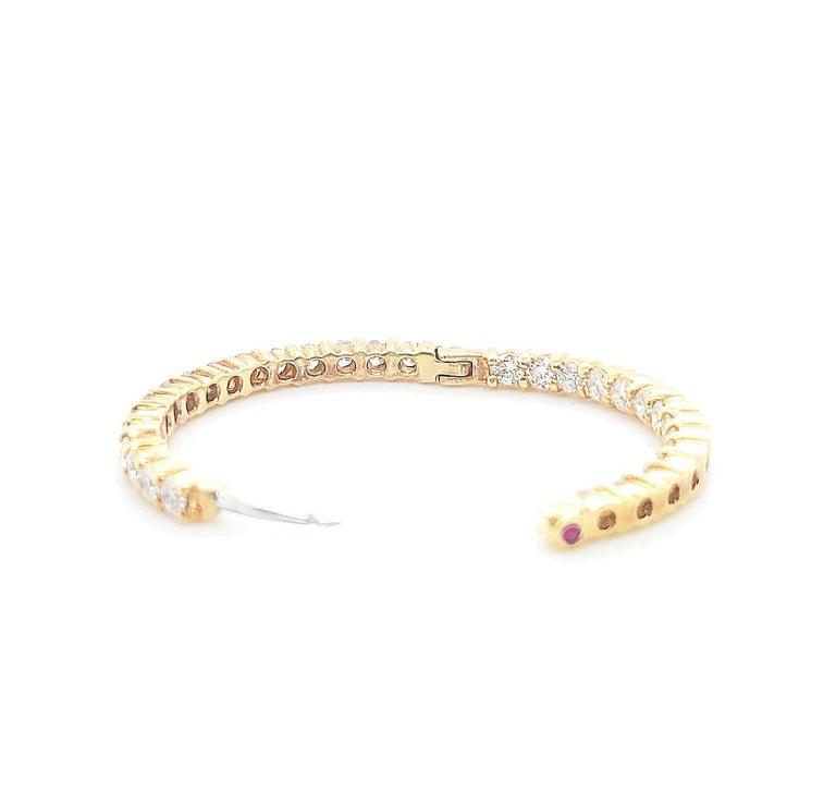 Women's or Men's Roberto Coin Gold Diamond Earrings For Sale