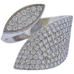 Roberto Coin Petals Diamond Gold Ring