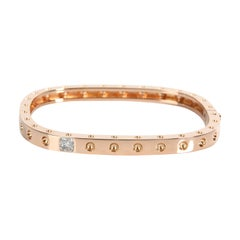 Roberto Coin Pois Moi Diamond Bangle in 18k Rose Gold 0.07 CTW