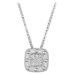 Roberto Coin Pois Moi Diamond Pendant 777922aw18x0