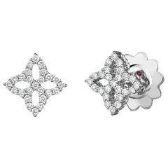 Roberto Coin Princess Small Flower Earring 8882348AWERX