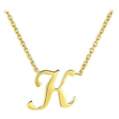 Roberto Coin Small Initial 'K' Pendent 000021AYCH0K