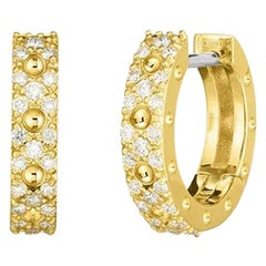 Roberto Coin Symphony Diamond Hoop Earring 7772068AYERX