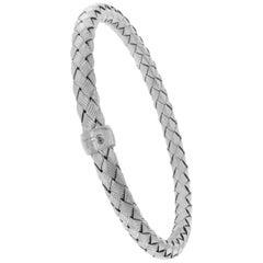 Roberto Coin the Fifth Season 925 Sterling Silver Woven Bracelet