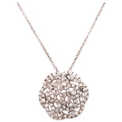 Roberto Coin White Gold Diamond Pendant