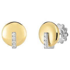 Roberto Coin Yellow Gold Earring 8882372AJERX