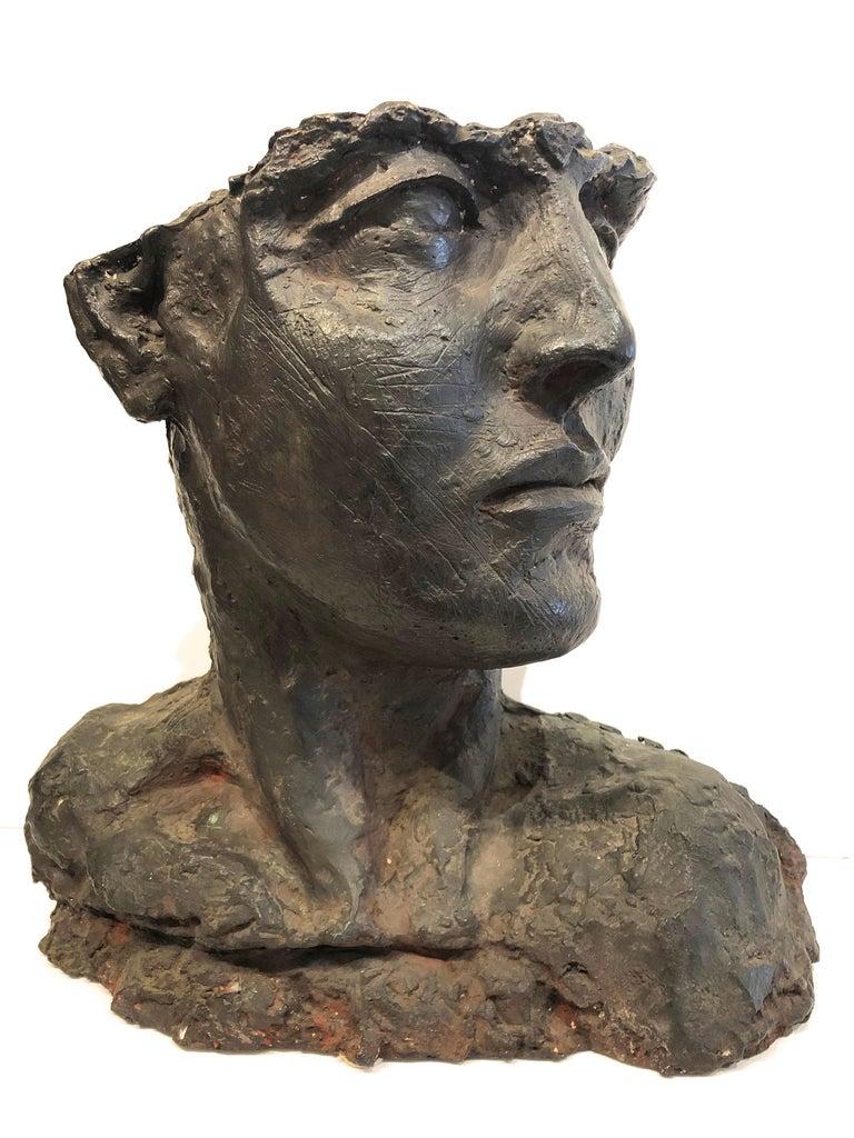Roberto Cortazar Figurative Sculpture -  Bust Of A Woman
