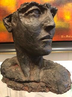 Modern Woman Bronze Bust