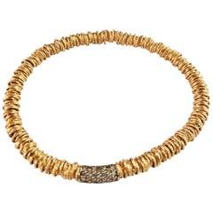 Roberto Demeglio Joy Collection Cognac Diamond Stretch Bracelet