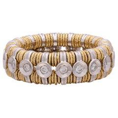 Roberto Demeglio JOY Diamond 18k Gold Stretch Ring