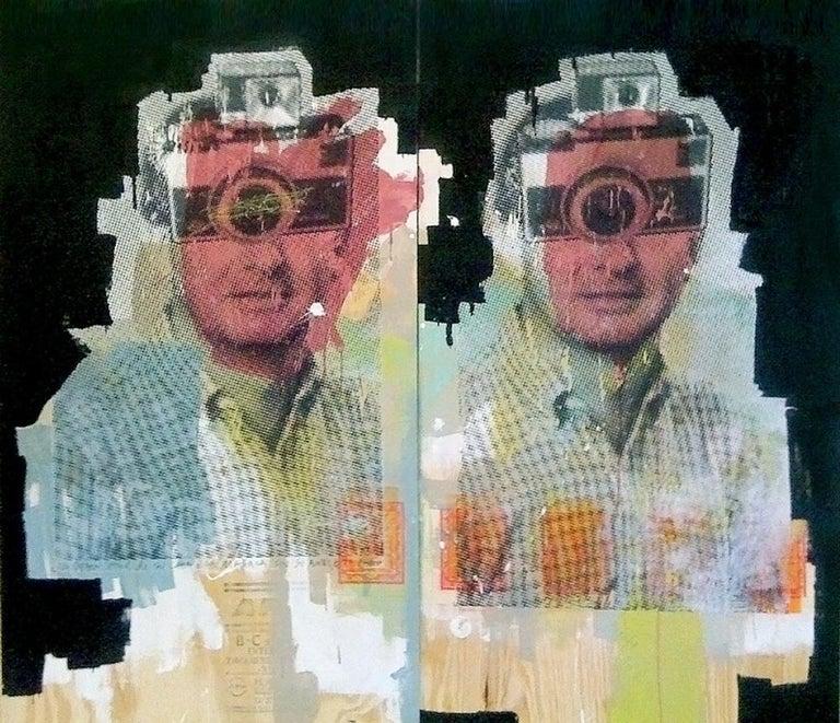 Diptych I - Pop Art Art by Roberto Fonfria