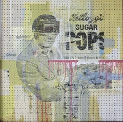 Sugar Pops, 2013, One of Kind Mixed Media