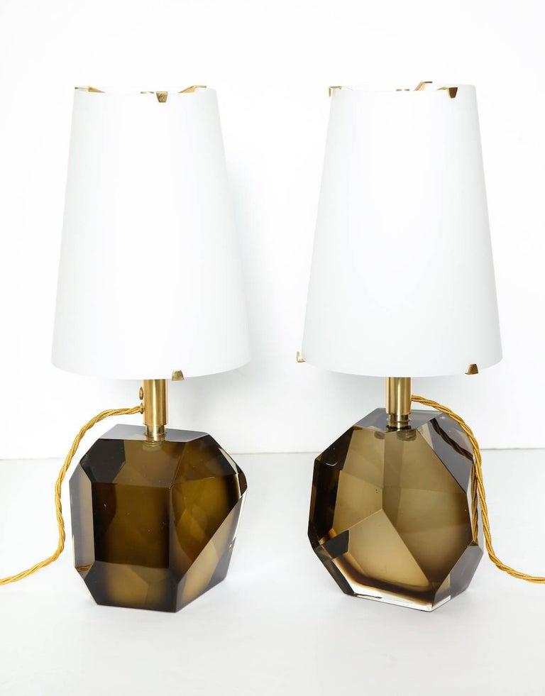 Italian Roberto Giulio Rida Table Lamps For Sale