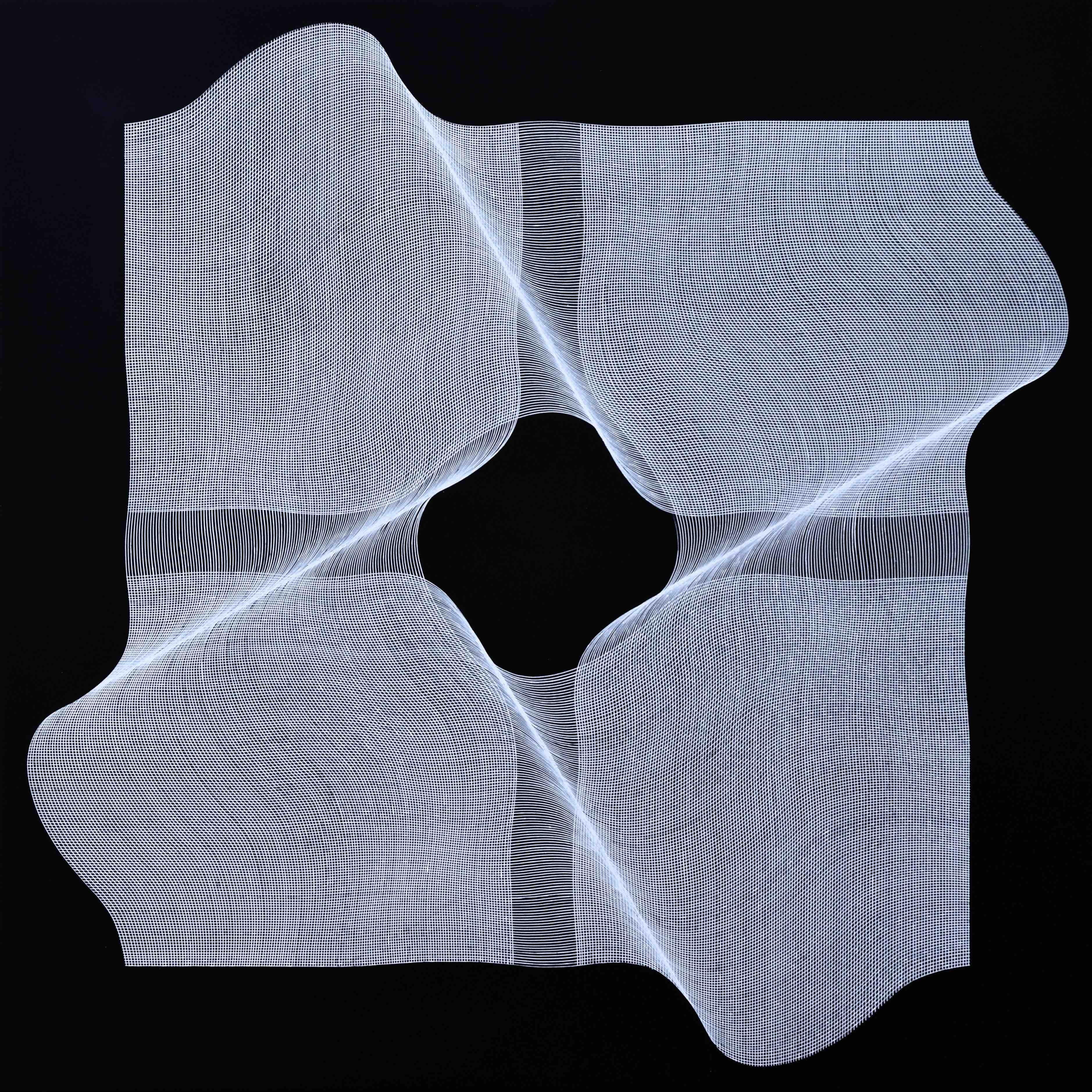 Dynamic Structures - geometric abstract painting