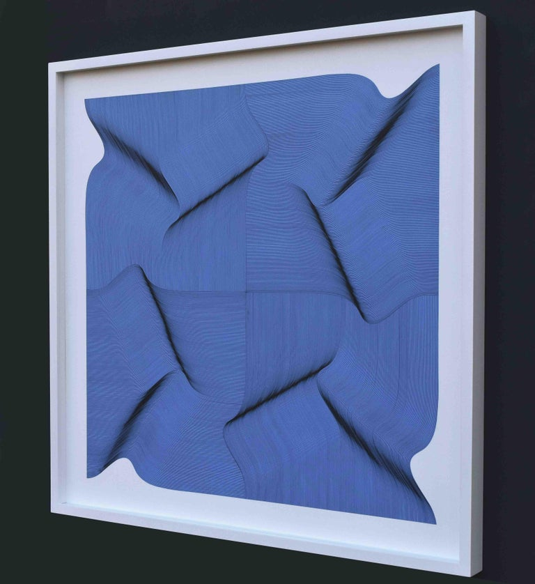 Dynamic Surface 2020 - Geometric Abstract - Painting by Roberto Lucchetta