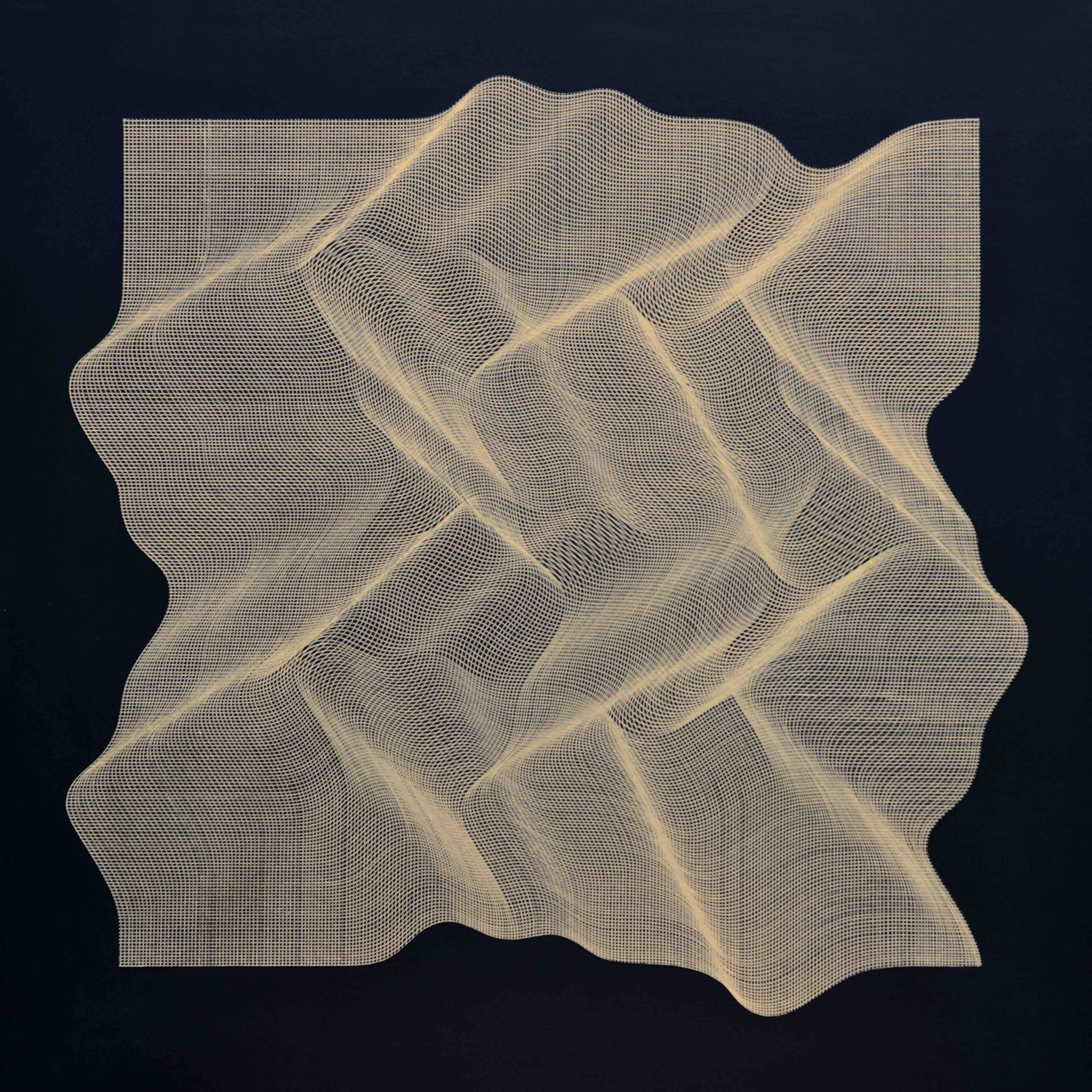 Texture Golden 2019 - Geometric Abstract