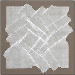 Trama - geometric abstract painting