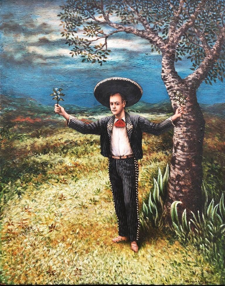 Mexican Contemporary Artist Roberto Márquez - El Charrito  1