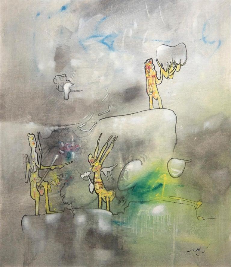 Roberto Matta Figurative Painting - L'epreuve