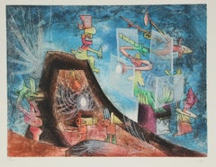 The Oppressors,  Surrealist Etching and Aquatint