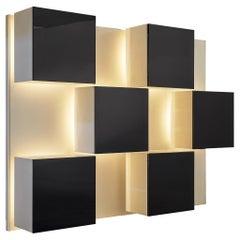 Roberto Monsani for Acerbis Illuminated Wall Unit