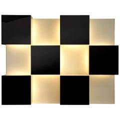 Roberto Monsani Illuminated Wall Unit for Acerbis