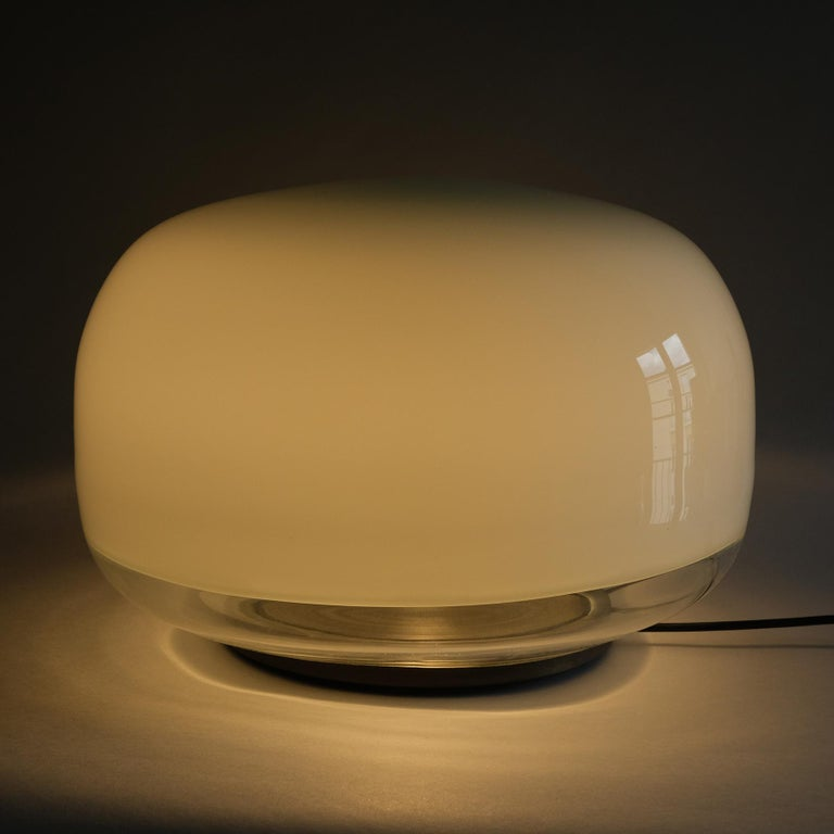Late 20th Century Roberto Pamio, Medusa, Table lamp, Leucos, Italy, 1970s For Sale