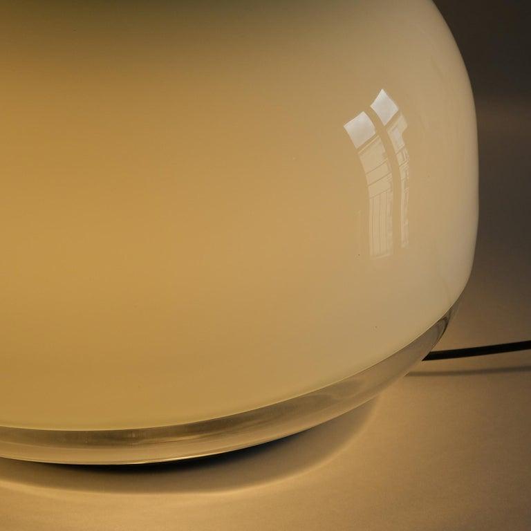 Blown Glass Roberto Pamio, Medusa, Table lamp, Leucos, Italy, 1970s For Sale