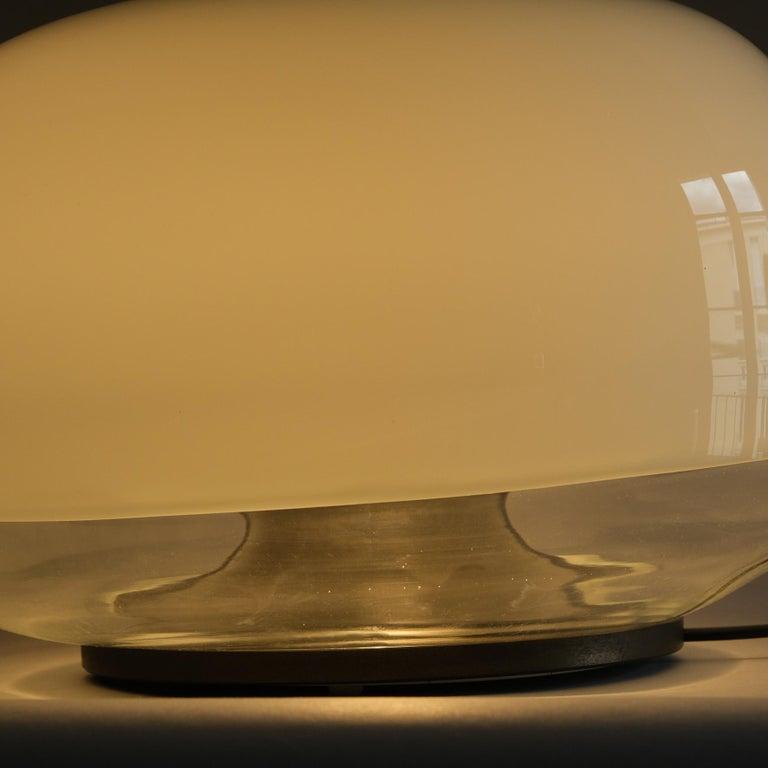 Roberto Pamio, Medusa, Table lamp, Leucos, Italy, 1970s For Sale 2