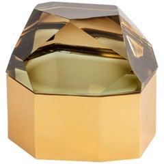 Roberto Rida 'Diamante Murano' Large Glass Box