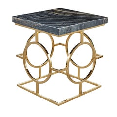 Roberto Side Table by Badari