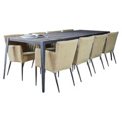 Roberts Contemporary Dining Table, 20th Century