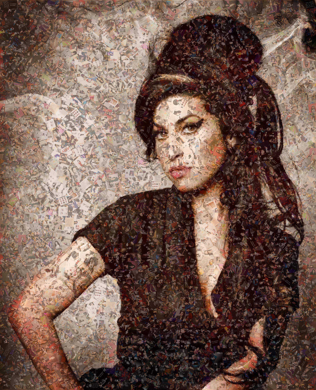 Amy Winehouse, Photomosaic