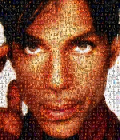 Prince ''When Doves Cry'', Photomosaic