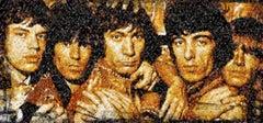 The Rolling Stones, Photomosaic, Acrylic