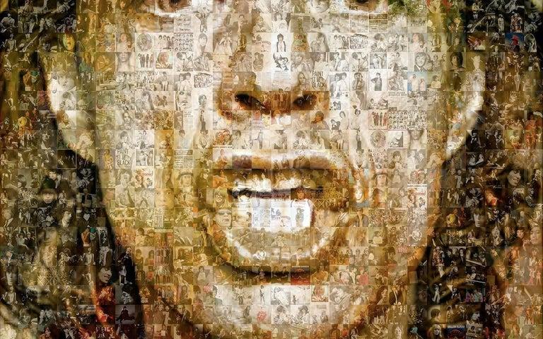 Your Majesty. Mick Jagger - Print by Robin Austin