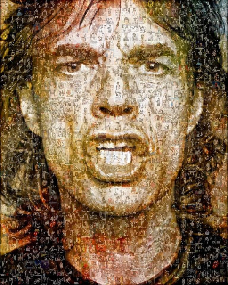Robin Austin Portrait Print - Your Majesty. Mick Jagger