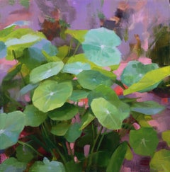 """Nasturtiums II"" Oil Painting"