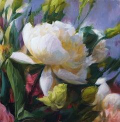"""Peony III"" Oil Painting"