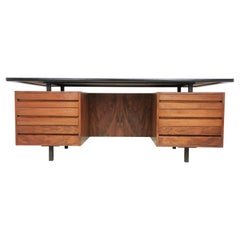 Robin Day for Hille Rosewood Executive Desk, Mid Century